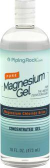 Gel para o corpo de magnésio 16 fl oz (473 mL) Frasco
