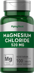 Cloreto de magnésio  100 Comprimidos