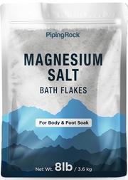 Magnesiumsaltbadsflager (krops- og fodbad) 8 lb (3.6 kg) Pose