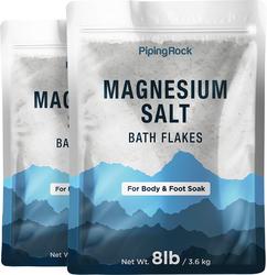 Magnesium-Salz-Badeflocken (Körper- und Fußbad) 8 lb (3.6 kg) Beutel