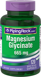 Buy Magnesium Glycinate 665 mg 2 x 120 Capsules