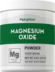 Poudre d'oxyde de magnésium 8 oz (227 g) Bouteille