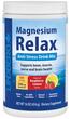 Poudre Relax au magnésium (arôme naturel framboise-citron) 16 oz (454 g) Bouteille