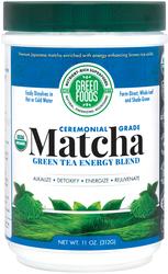 Grüner Tee-Pulver Matcha Energie-Pulvermischung 11 oz (312 g) Flasche