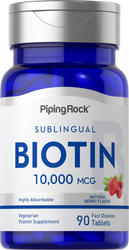Макс. биотин  90 Бързоразтворими таблетки