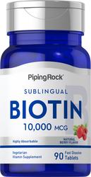 Biotina Max 90 Comprimidos de dissolução rápida