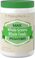 マックス ホール グリーン フード パウダー 12 oz (341 g) ボトル
