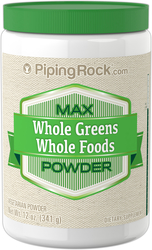 Buy Max Whole Greens Food Powder 12 oz (340 g) Bottle