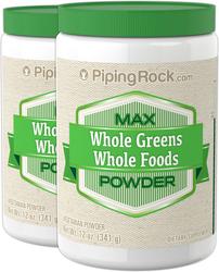 Max Whole Greens Food Powder  2 Jars x 12 oz (341 grams)