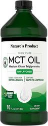 Óleo de MCT (triglicéridos de cadeia média) 16 fl oz (473 mL) Frasco