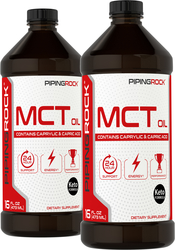 MCT Oil (Medium Chain Triglycerides) 2 x 16 fl oz (473 mL)