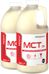 MCT Oil (Medium Chain Triglycerides), 64 fl oz (1.9 L) x 2 Bottles