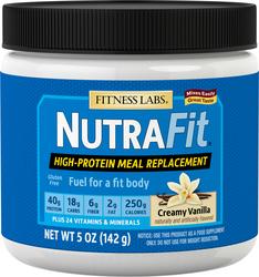 Shake substitut de repas NutraFit (arôme de vanille crémeuse) (dose d'essai) 5 oz (142 g) size_units.unit.118