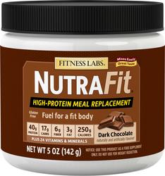 Shake NutraFit als Mahlzeitenersatz (Zartbitterschokolade) (Testgröße) 5 oz (142 g) size_units.unit.118
