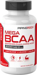 Mega BCAA, 2000 mg (per serving), 90 Capsules