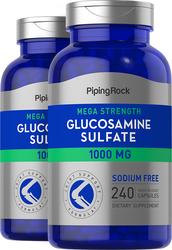 Méga Sulfate de Glucosamine  240 Gélules à libération rapide