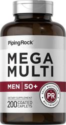 Mega meervoudig voor mannen 50 plus 200 Gecoate capletten