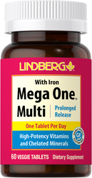 Mega One Multi With Iron (Prolonged Release), 60 Tabs