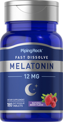 Мелатонин бързо разтварящи се 180 Бързоразтворими таблетки