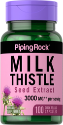 Extrait de graine de chardon de lait 100 Gélules à libération rapide