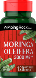 Moringa Oleifera 3,000 mg, 120 Capsules