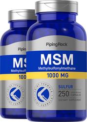 MSM 1000mg 500 Capsules