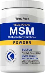 Pó (enxofre) MSM 16 oz (454 g) Frasco