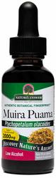 Tekući ekstrakt korijena biljke muira puama 1 fl oz (30 mL) Bočica s kapaljkom