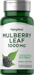 Mulberry Leaf 1000 mg 120 Capsules
