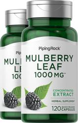 Mulberry Leaf 1000 mg 2 x 120 Capsules