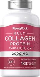 Protéines Multi Collagène (Types I, II, III, V, X) 180 Gélules à libération rapide