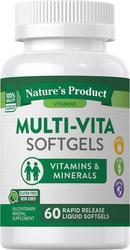 Multi-Vita, 60  Rapid Release Liquid Softgels