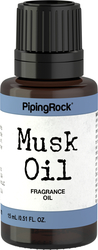 Musk Fragrance Oil 1/2 oz (15 ml) Dropper Bottle