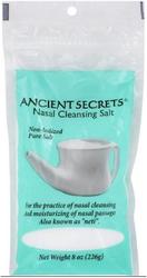 Nasal Cleansing Salt (Non-Iodized), 8 oz