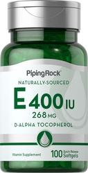 天然ビタミン E  100 速放性ソフトカプセル