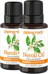Mélange d'huiles essentielles de néroli 1/2 fl oz (15 mL) Compte-gouttes en verre