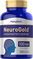 NeuroGold Phosphatidylserine 100 mg, 120 Softgel