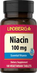 Niacin (B-3) 100 mg, 100 Veg Tabs