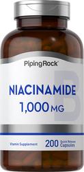 Niacinamide B-3 200 Gélules à libération rapide