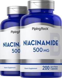 Niacinamid B-3 200 Kapseln mit schneller Freisetzung