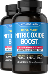 Nitric Oxide Boost, 240 Capsules x 2 Bottles