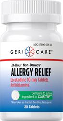 氯雷他定(无嗜睡症状)缓解过敏片    10 mg 30 片