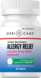 Loratadine 10 mg Non-Drowsy Allergy Relief, 30 Tablets