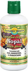 Buy Organic Nopal Cactus Juice 33.8 fl oz (1 L) Bottle