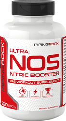 NOS (Nitric Booster), 3600 mg (per serving), 220 Coated Caplets