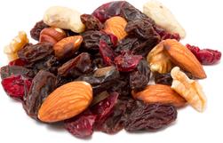 Sundhedsblanding med nødder og tørret frugt 1 lb (454 g) Pose