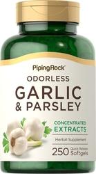 Ail et persil inodores 250 Capsules molles à libération rapide