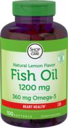 Omega-3 Fish Oil Lemon Flavor