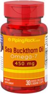 Sea Buckthorn Omega-7 Oil 450mg 30 Liquid Capsules
