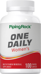 One Daily Women's Multivitamin & Mineral 100 コーティング カプレット
